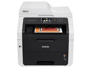 Brother MFC9340CDW BROTHER Wireless Color Laser LED All-in-One Printer, Copier, Scanner, Fax, Mfc-9340Cdw, Black