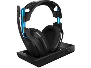 ASTRO Gaming A50 Wireless Dolby Gaming Headset for PlayStation 4 & PC - Black/Blue (2017 Model)