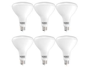 Sunco Lighting 6 Pack BR40 LED Bulb, 17W=100W, Dimmable, 6000K Daylight Deluxe, 1400 LM, E26 Base, Indoor Flood Light for Cans - UL