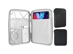 MoKo Sleeve Bag for 9-11 Inch Tablet, Protective Bag Carrying Case with Pocket Fits with iPad Pro 11 2021/2020/2018, iPad 8th 7th Generation 10.2, iPad Air 4 10.9, iPad 9.7, Dark Gray