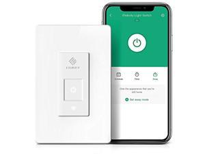 Smart Light Switch by Etekcity, WiFi Remote Control Switch with Timer, Works with Alexa, Google Home and IFTTT, Single Pole, Neutral Wire Required, No Hub Required, Easy Installation, ETL/FCC Listed