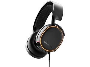 SteelSeries Arctis 5 - Gaming Headset - RGB Illumination - DTS Headphone:X v2.0 Surround for PC and PlayStation 4 - Black [2019 Edition]