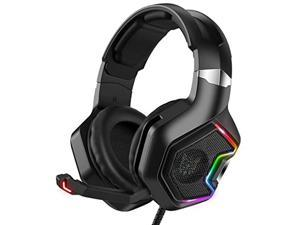 ONIKUMA Gaming Headset for PS5, PS4, Xbox Series X S & Xbox One Games, PC Gaming Headphone with 7.1 Surround Sound, Noise Canceling Mic- for Playstation 5, Mac, Nintendo Switch, Mobile