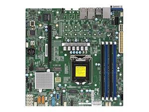 Supermicro MBD-X11SCM-F-O Micro ATX Server Motherboard