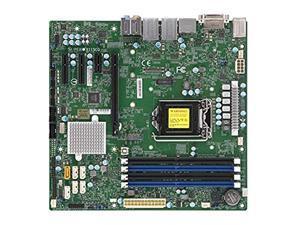 Supermicro Motherboard MBD-X11SCQ-O Corei7/i5/i3 S1151 Q370 PCIE SATA uATX DDR4 2666MHzRetail