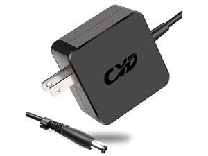 CYD 65W PowerFast Replacement for Laptop-Charger HP 520 Revolve 810 G1 430 431 Probook 430 Folio 9470M 9480M Split X2 13 Spectre X2 13 Pavilion X2 11 Series Elitebook 820 840 725 8.2 Ft Extra Dc Cable