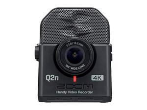 Zoom Q2n-4K Handy Video Recorder, 4K/30P Ultra High Definition Video, Compact Size, Stereo Microphones, Wide Angle Lens, for Recording Music, Video, Youtube Videos, Livestreaming