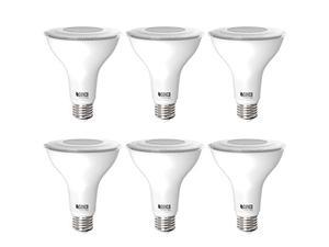 Sunco Lighting 6 Pack PAR30 LED Bulb, Dusk-to-Dawn Photocell Sensor, 11W=75W, 4000K Cool White, 850 LM, Waterproof, Auto On/Off Outdoor Security Spotlight - UL