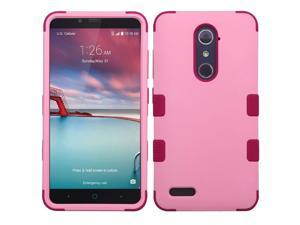 Asmyna Cell Phone Case for ZTE Zmax Pro - Soft Pink/Rose
