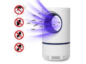 Electric Mosquito Killer Lamp Indoor Fly Bug Insect Zapper Trap LED Light Bulb