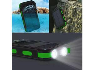 Waterproof 3000000mAh 2 USB Portable Solar Battery Charger Solar Power Bank KG