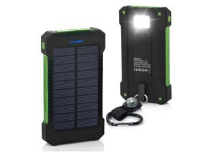 3000000mAh USB Portable Battery Charger Solar Power Bank Phone KG