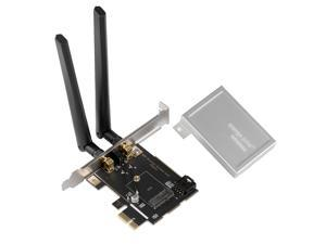 M.2 NGFF Wireless to PCI-e x1 Desktop PC Converter WiFi Bluetooth Adapter