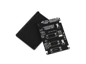 """mSATA to 2.5"""" SATA Adapter Card SSD Converter Enclosure"""