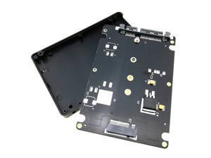 "M.2 NGFF SSD B Key to 2.5"" SATA Converter Enclosure"
