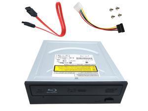Internal SATA 12X Bluary Player DVD Burner Desktop PC Drive Cable Set