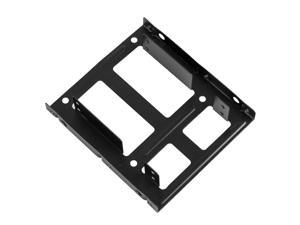 """3.5"""" Drive Bay Metal Mount for Two 2.5"""" SSD HDD"""
