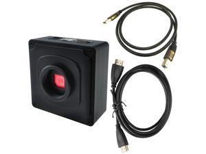 Microscope Camera Body C Mount 1080P HDMI Output 38MP Photo