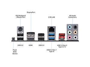 MSI B550-A PRO ProSeries Motherboard (AMD AM4, DDR4, PCIe 4.0, SATA 6Gb/s, M.2, USB 3.2 Gen 2, HDMI/DP, ATX) (B550-APRO)