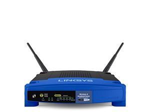 Linksys WRT54GL Wi-Fi Wireless-G Broadband Router,Blue / Black (WRT54GL)