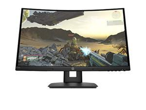 HP X24c Gaming Monitor   1500R Curved Gaming Monitor in FHD Resolution with 144Hz Refresh Rate and AMD FreeSync Premium   (9EK40AA) (9EK40AA#ABA)