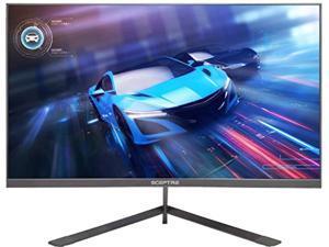 "Sceptre IPS 24"" LED Gaming Monitor 1ms HDMI DisplayPort up to 165Hz AMD FreeSync Premium Build-in Speakers, Edgeless Machine Black 2021 (E248B-FPN168) (E248B-FPN168)"