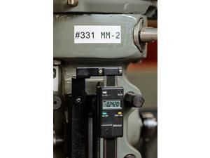 "Brady Official (MC-1500-595-WT-BK) High Adhesion Vinyl Label Tape, Black on White - Designed for BMP51 and BMP53 Label Printers - 25' Length, 1.5"" Width (MC-1500-595-WT-BK)"