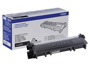 Brother Genuine Standard Yield Toner Cartridge, TN630, Replacement Black Toner, Page Yield Up To 1,200 Pages,  Dash Replenishment Cartridge (TN630)