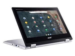 "Acer Chromebook Spin 311 11.6"" HD LED-Backlit IPS Touchscreen 2 in 1 Convertible Laptop, Intel Celeron N4000, 4GB DDR4, 64GB eMMC, WiFi, Bluetooth, Webcam, USB-C, Chrome OS, 32GB ABYS Micro SD Card"