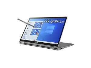 LG Gram 2in1 Convertible Laptop, 14Inch Full HD IPS Touchscreen Display, Intel 10th Gen Core i710510U CPU, 16GB RAM, 1TB 512GB x 2 M.2 MVMe SSD, Thunderbolt 3, 20.5 Hour Battery 14T9 (14T90N-R.AAS9U1)