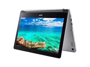 "2018 Flagship Acer R13 13.3"" Full HD IPS Touchscreen 2-in-1 Chromebook - MediaTek MT8173 Quad-Core 4GB RAM 32GB SSD PowerVR GX6250 USB 3.1 Type C HDMI up to 12hr Battery Life 802.11 (43237-220217)"
