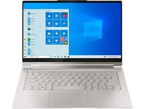 """Lenovo Yoga 9i 14 2-in-1 14"""" FHD Touch-Screen -11th Gen Intel Evo Platform i7-1185G7-16GB DDR4 - 512GB SSD - Active Pen - Alexa Built-in - Fingerprint Reader - USB-C 4.0/Thunderbolt 4 - Win 10 - Mica"""