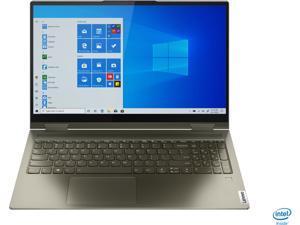 "Lenovo - Yoga 7i 2-in-1 15.6"" Touch Screen Laptop - Intel Evo Platform Core i7 - 12GB Memory - 512GB Solid State Drive - Dark Moss (82BJ0003US)"