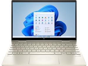 "HP - ENVY 2-in-1 13.3"" Touch-Screen Laptop - Intel Evo Platform - Core i7 - 8GB Memory - 512GB SSD - Pale gold (13M-BD0033DX)"