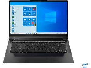 "Lenovo - Yoga 9i 14 2-in-1 14"" Touch-Screen Laptop - Intel Evo Platform Core i7 - 16GB Memory - 512GB SSD - Shadow Black (82BG0001US)"