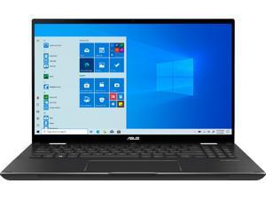 """ASUS - ZenBook Flip 15 Q528EH 15.6"""" Touch-Screen Laptop - Intel Core i7 - 16GB Memory - GTX1650 Max-Q - 512GB SSD - Grey (Q528EH-202.BL)"""