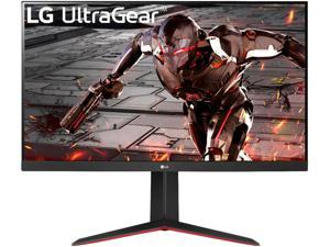 """LG 32"""" (31.5"""" Viewable) 32GN650-B UltraGear QHD 2560 x 1440 1ms 165Hz HDR10 Gaming Monitor with FreeSync Premium and Tilt/Height/Pivot adjustable stand"""