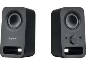 Logitech - z150 2.0 Multimedia Speakers (2-Piece) - Black (980-000802)