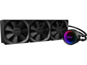 NZXT - Kraken X73 RGB All-in-one 360mm Radiator CPU Liquid Cooling System - Black (KRAKENX73)