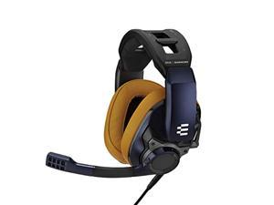 EPOS I Sennheiser GSP 602 - Wired Closed Acoustic Gaming Headset, Noise-Cancelling Microphone, Adjustable Headband with Customizable Contact Pressure, Volume Control, for PC + Mac + Xbox + P (1000414)