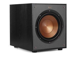 "Klipsch R-100SW 10"" Subwoofer, Incredibly Deep Bass and an All-digital Amplifier (R-100SW)"
