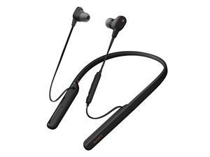 Sony WI-1000XM2 Industry Leading Noise Canceling Wireless Behind-Neck in Ear Headset/Headphones with mic for phone call with Alexa Voice Control, Black (WI1000XM2/B)