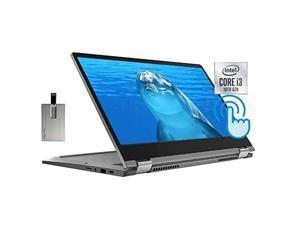 """2020 Lenovo Chromebook Flex 5 2-in-1 13"""" FHD Touch Laptop Computer, 10th Gen Intel Core i3-10110U, 4GB RAM, 64GB eMMC, Backlit Keyboard, Intel Graphics, Webcam, Chrome OS, Grey, 32GB SnowBell USB Card"""