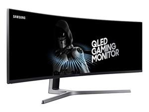 SAMSUNG 49-Inch CHG90 144Hz Curved Gaming Monitor (LC49HG90DMNXZA) - Super Ultrawide Screen QLED Computer Monitor, 3840 x 1080p Resolution, 1ms Response, FreeSync 2 with HDR (LC49HG90DMNXZA)