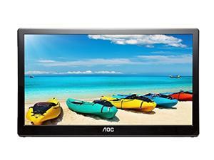 "AOC I1659FWUX 15.6"" USB-powered portable monitor, Full HD 1920x1080 IPS, Built-in Stand, VESA (i1659fwux)"