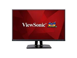 ViewSonic VP2785-4K 27-Inch Premium IPS 4K Monitor with Advanced Ergonomics, ColorPro 99%A AdobeRGB Rec 709, 14-bit 3D LUT, Eye Care, 65W USB C, HDMI, DP for Home and Office (VP2785-4K)