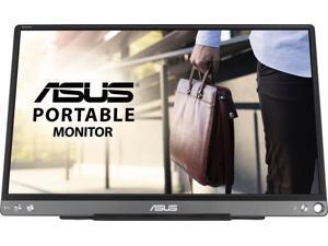"ASUS - ZenScreen 15.6"" Portable Monitor (USB) - Dark Gray (MB16ACE)"