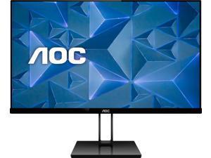 "AOC - 27V2H 27"" IPS LED FHD Ultra-Slim FreeSync Monitor (HDMI, VGA) - Black (27V2H)"