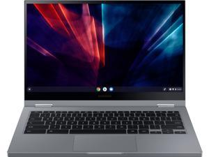 "Samsung - Galaxy Chromebook 2 - 13.3"" QLED Touch-Screen - Intel® Core™ i3 - 8GB Memory - 128GB eMMC - Mercury Gray (XE530QCA-KB1US)"