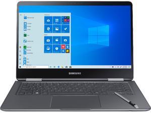 "Samsung - Geek Squad Certified Renewed Notebook 9 Pro - 15"" Laptop - Intel Core i7 - 16GB Memory - AMD Radeon 540 - 256GB SSD - Titan Silver (GSRFNP-940X5N-X01US)"